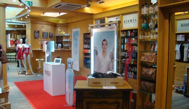Dekoration von Einkaufzentrum, Verkaufsflächen, Veranstaltungen