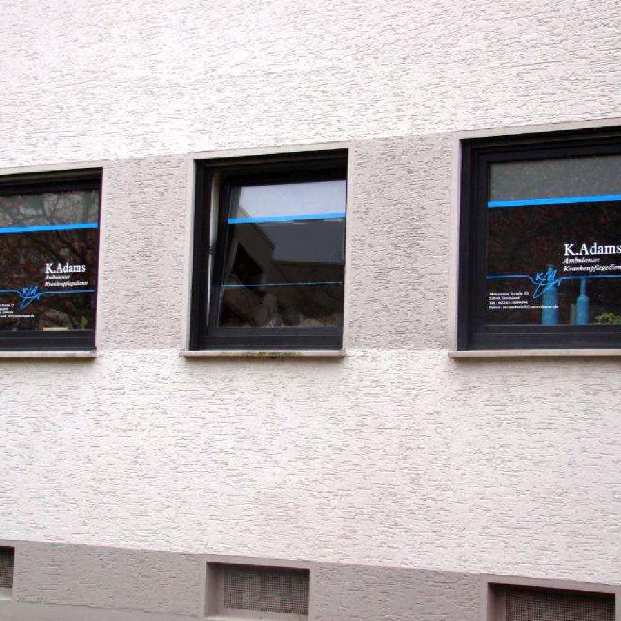 Schaufensterbeschriftung, Schaufenstergestaltung
