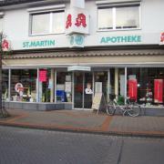 Schaufensterdekoration, Verkaufsflächendekoration, Eventdekoration, Apotheke Dekoration in Köln, Leverkusen, Aachen, Frankfurt, Düsseldorf by SRS Schumpe Troisdorf